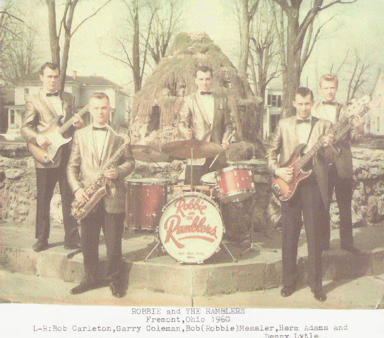 Image result for Linda Burnette with Robby & The Ramblers